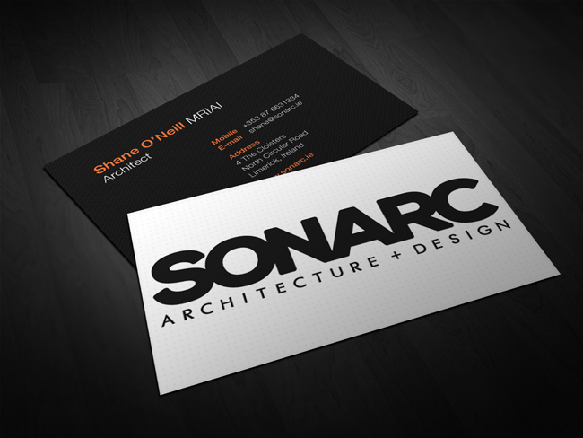 sonarcbusinesscards